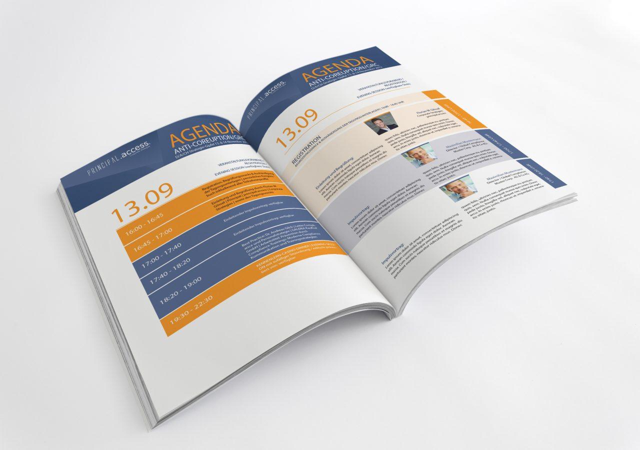 Broschüre für Principal.access
