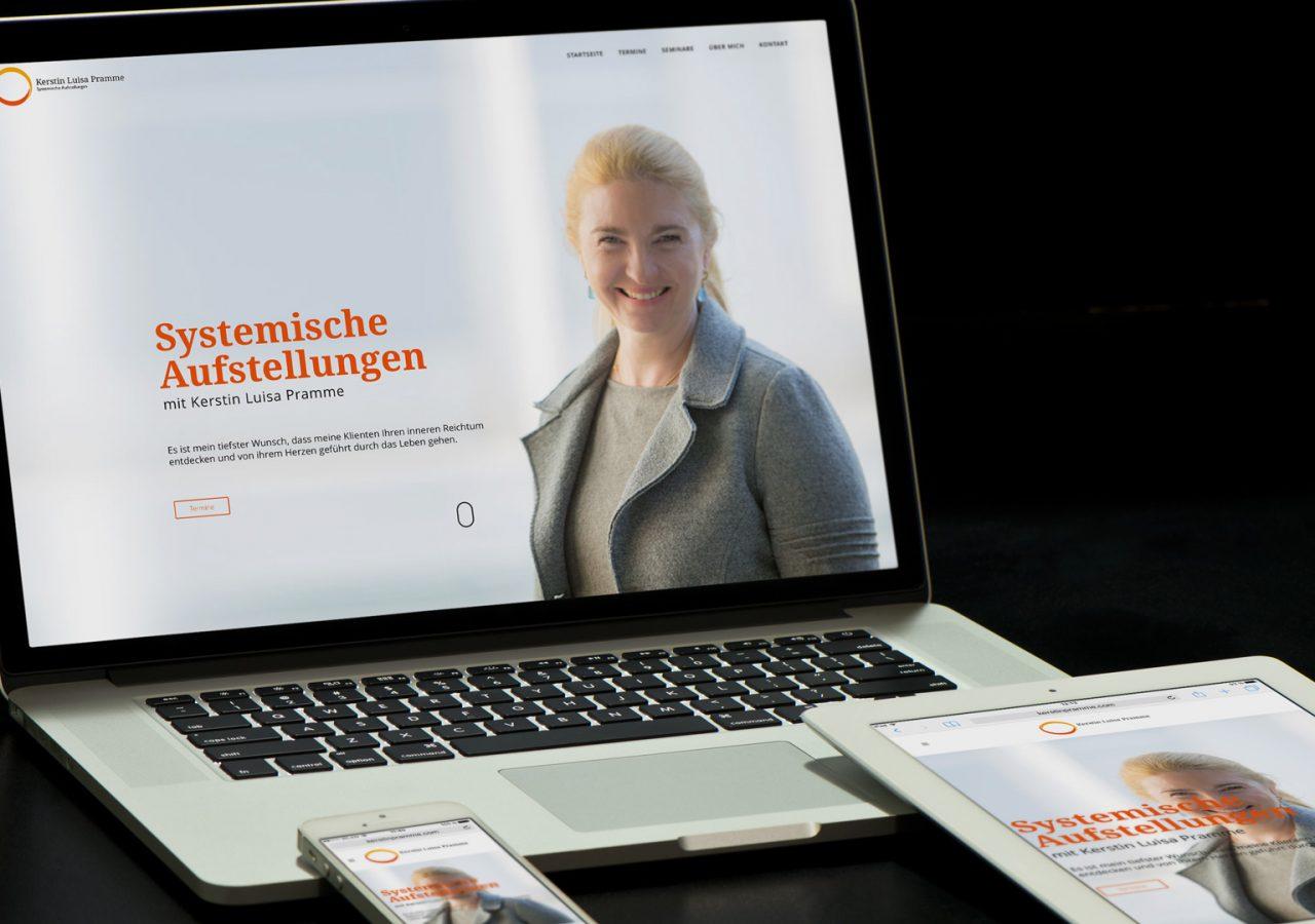Website von Kerstin Pramme