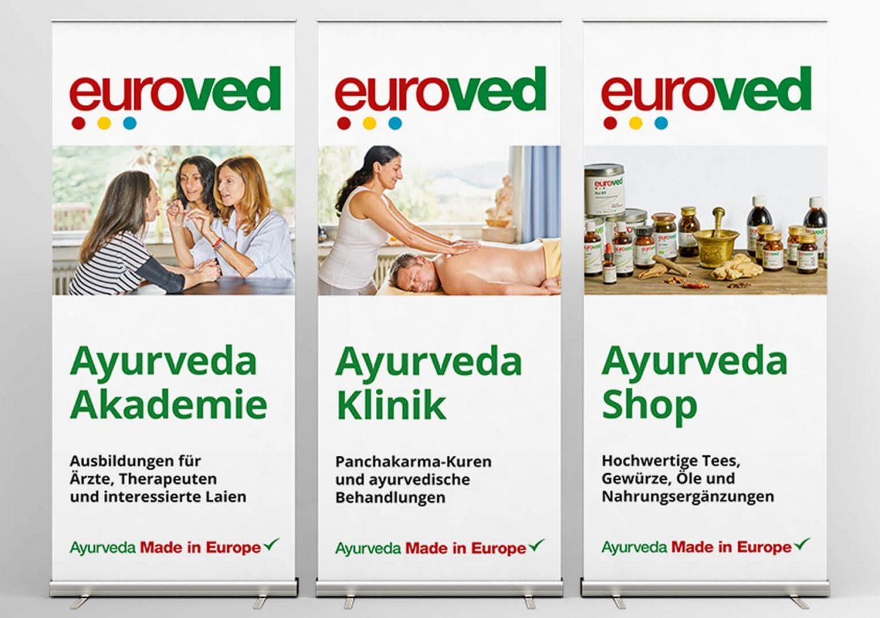 Roll-Ups der Firma Euroved GmbH